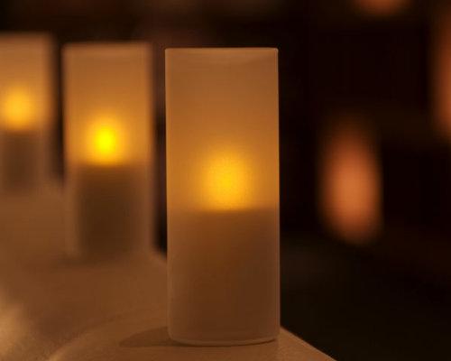 キャンドル以上にキャンドルらしい灯り