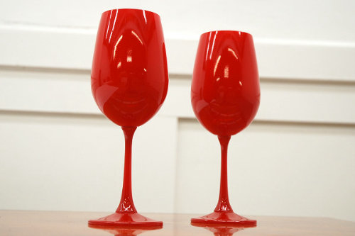 ドレッシーなワイングラス