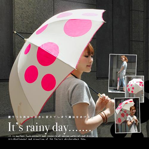 憂鬱な雨を大好きに変えてしまう魔法をあげる