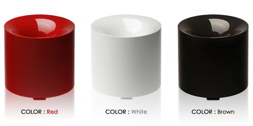 ±0 加湿器「 Humidifier S」カラーバリエーション