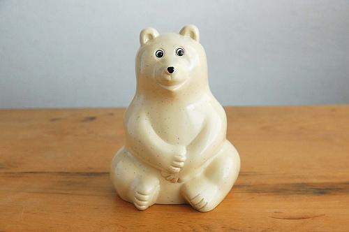MK Tresmer「シロクマバンク(Polar Bear Money BOX)」