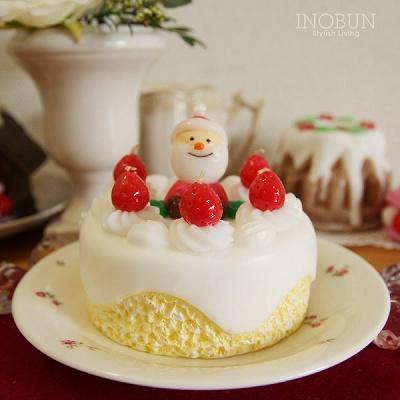 サンタクリスマスケーキ スイーツキャンドル