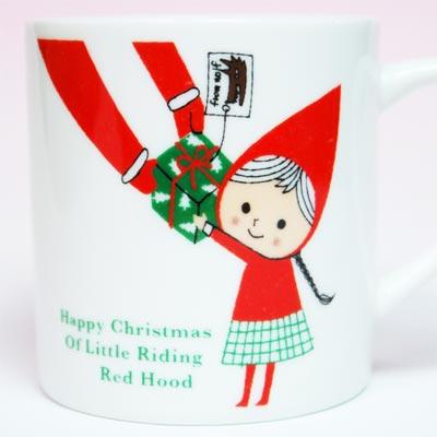 Shinzi Katoh赤ずきんクリスマスマグ