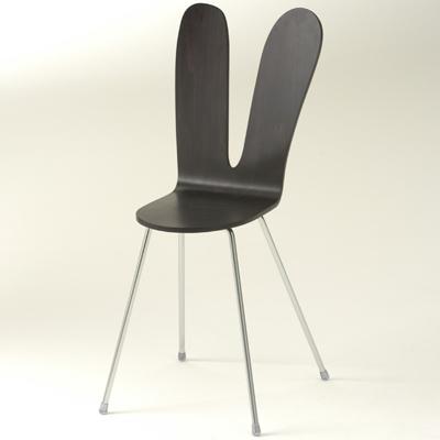 ウサギのシルエットの椅子「SANAA アームレスチェア」
