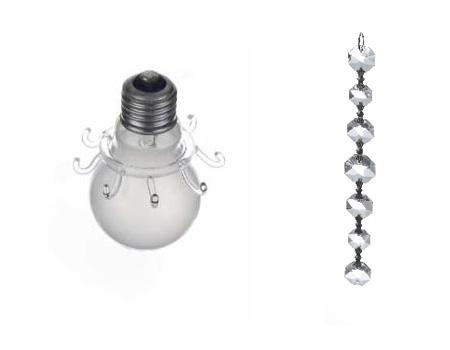 シンプルな発想のシャンデリア「bulb chandelier」