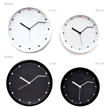 いつでも3分前行動できる時計「ON-TIME」サイズとカラーバリエーション