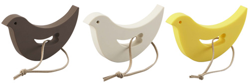 けなげな小鳥のドアストッパー「eiffel bird」カラーバリエーション