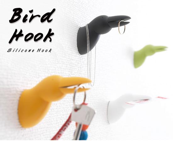 鳥のかたちをしたフック「Bird Hook」