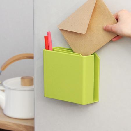 渦巻き状のどこでもポケット「ideaco letter pocket」
