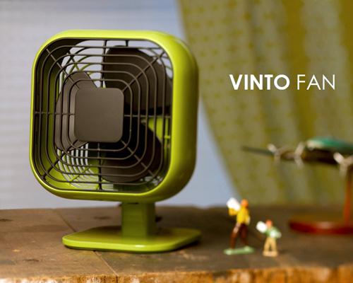 小さくてもしっかり者の70年代風扇風機「IDEA LABEL VINTO FAN」