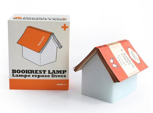 今日のつづきは屋根にのせて。「Book Rest Lamp」