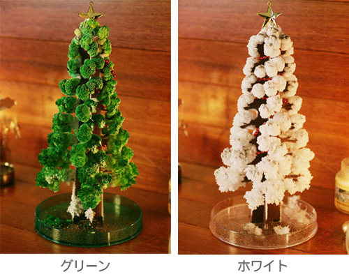 聖夜の魔法でモコモコ育つクリスマスツリー「マジッククリスマスツリー」